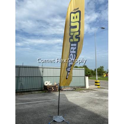 Beach Flag Flying Stand [Knife]