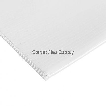 PP Hollow [White] Printing Sheet 5MM